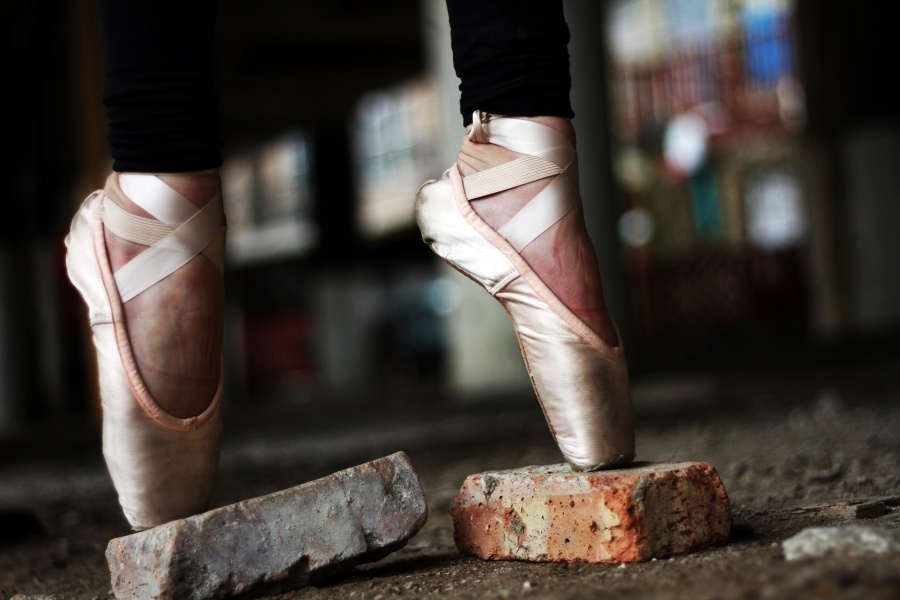 Pointe and brick