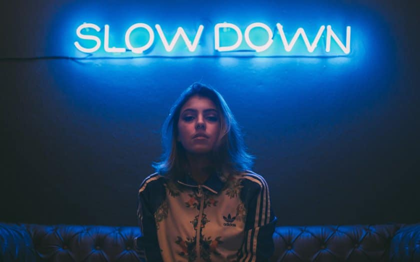 slow down girl stress